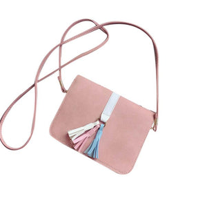 Multicoloured Tassel  Shoulder Bags - roshanthy