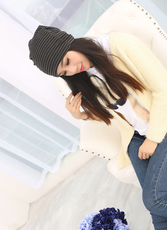Soft Stretch Cotton Beanies - roshanthy