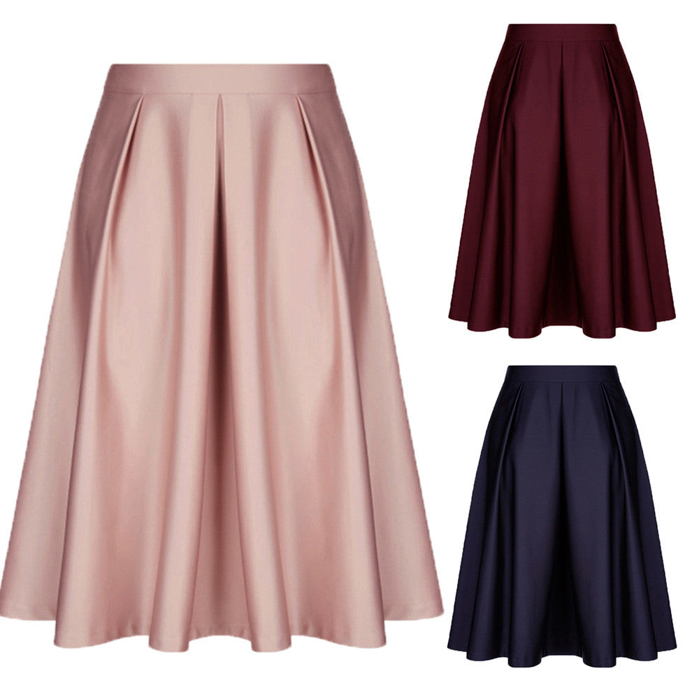 Ruffled Swing Skirt - roshanthy