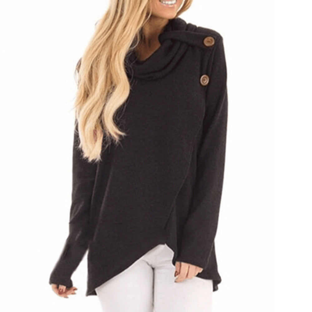 Casual Long Sleeve Styled Top - roshanthy