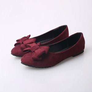 Plain and Simple Cute Flats - roshanthy