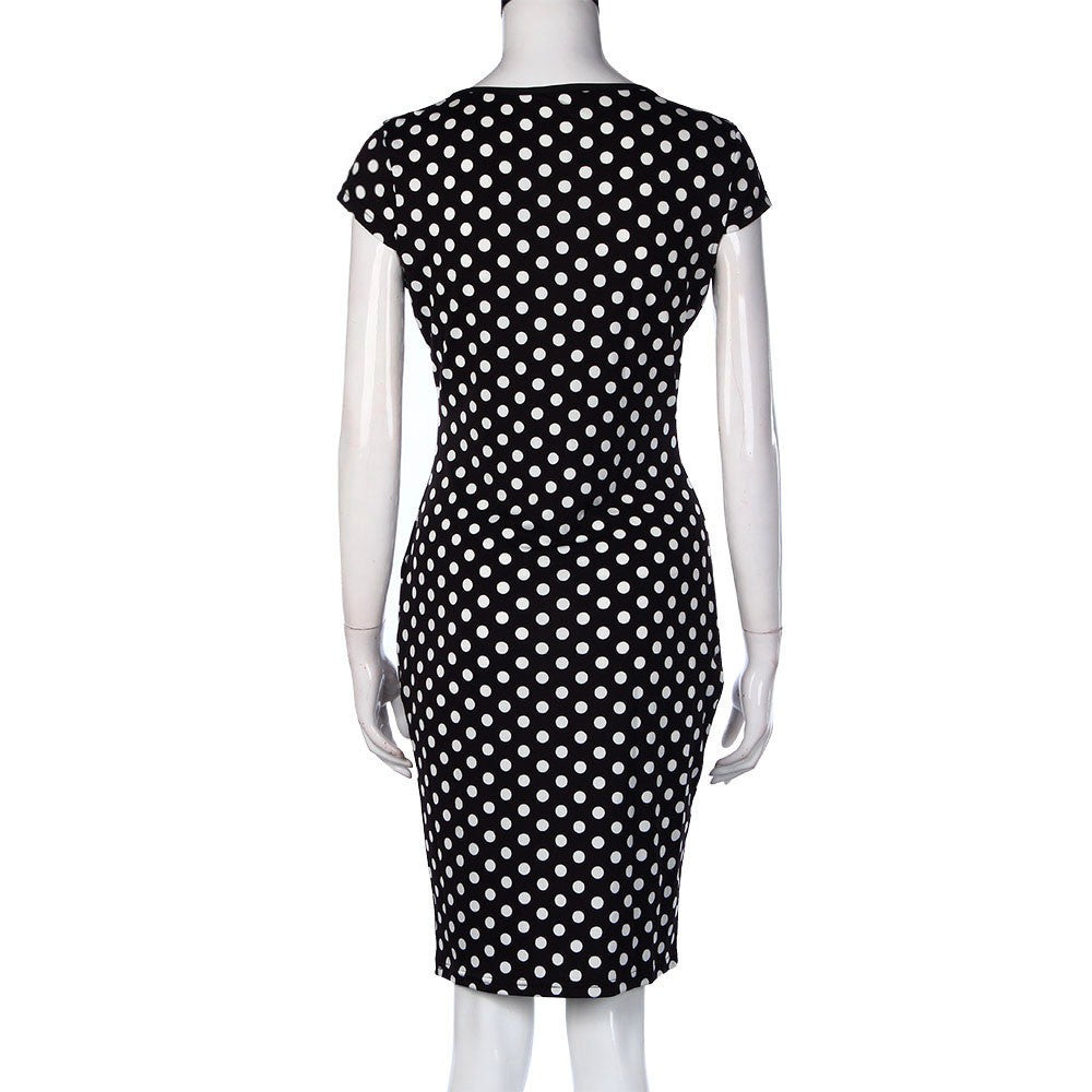 Polka Dot or Patchwork Dresses - roshanthy