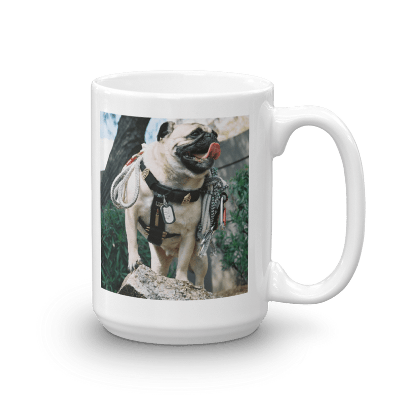 Coffee Mug Sgt Major Pug - Pugona Rock Club