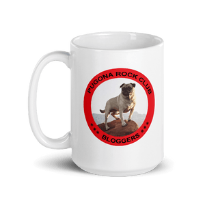 Coffee Mug Pugona Rock Club Bloggers Vinny