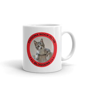 Coffee Mug Pugona Rock Club Bloggers