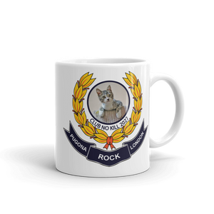 London Pugona Rock Club Kitty Mug