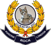 London Kitty Pugona Rock Mug