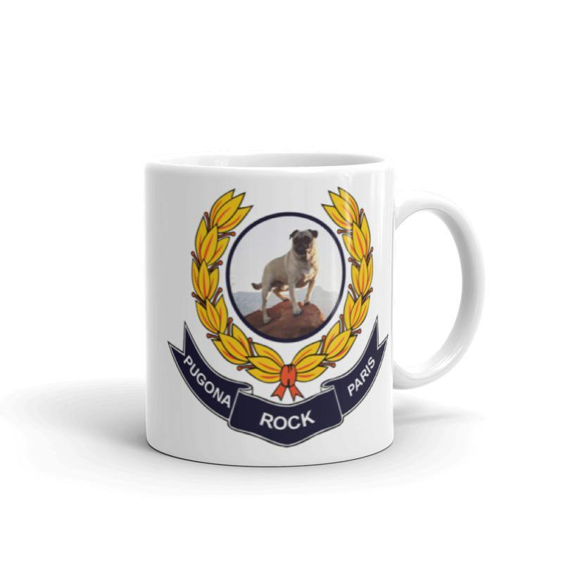 Paris Pugona Rock Club Mug