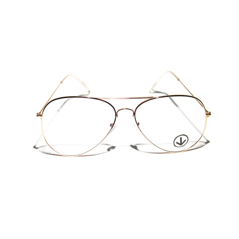 DWi Clear Frames (Gold)