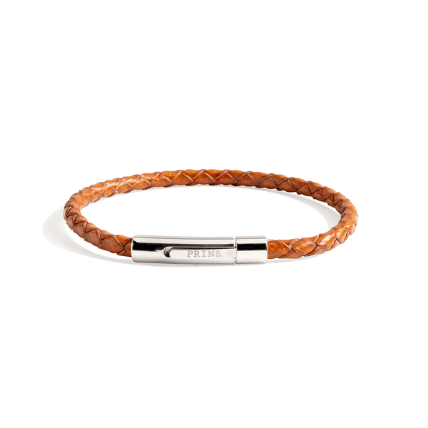 The Minimal Wrist - Cognac Brown