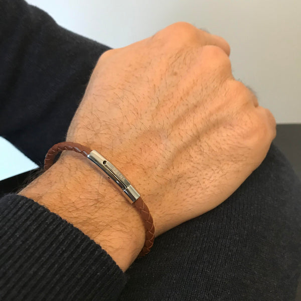 The Minimal Wrist - Dark Brown