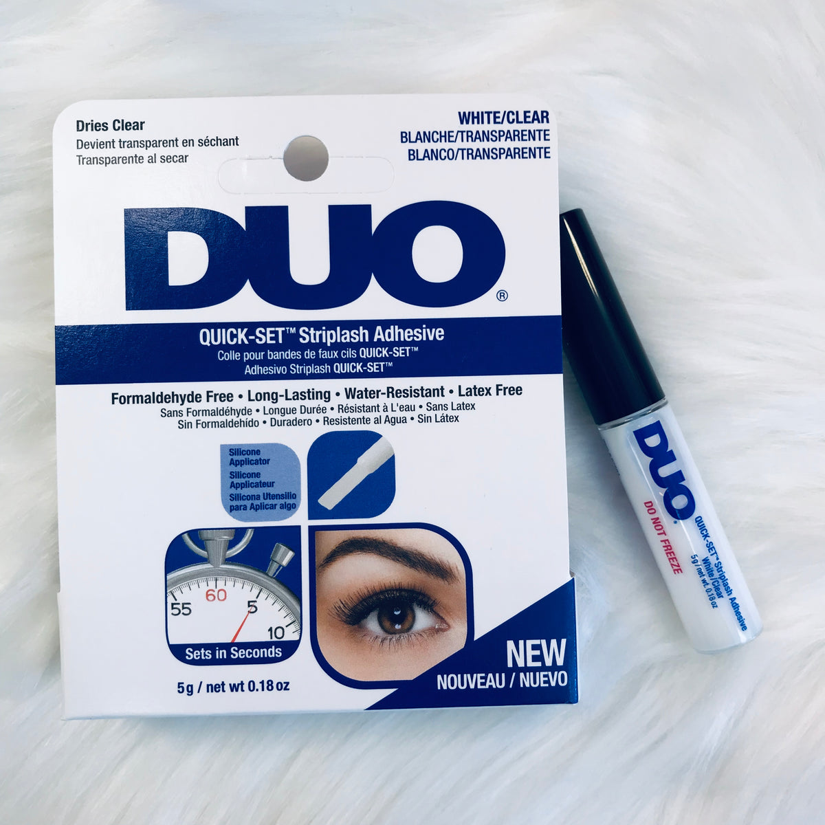 Duo Adhesive Quick Set Lash Adhesive Clear - 0.18oz