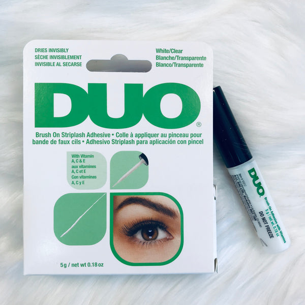 DUO Brush-On Lash Adhesive with Vitamins A, C & E, Clear