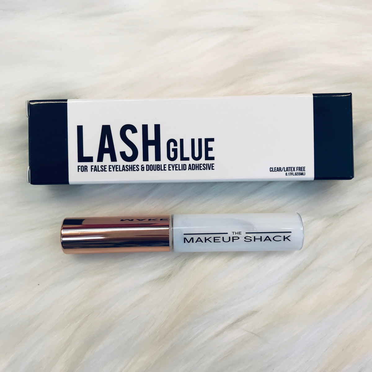 The Makeup Shack lash glue- Clear