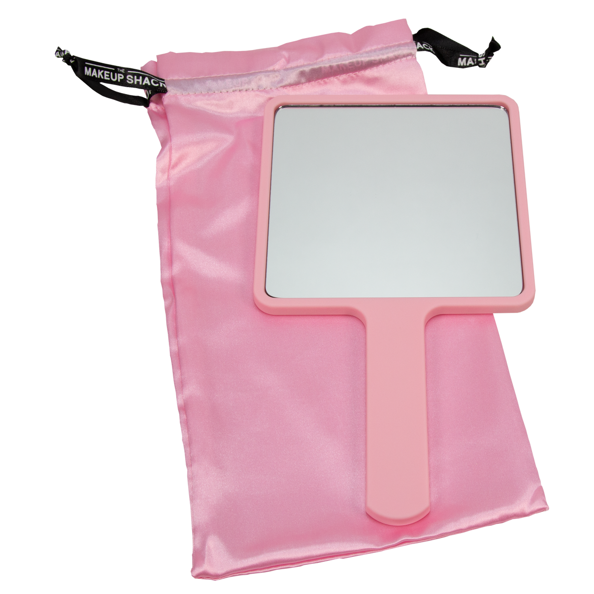 TMS HAND HELD MIRROR- PINK