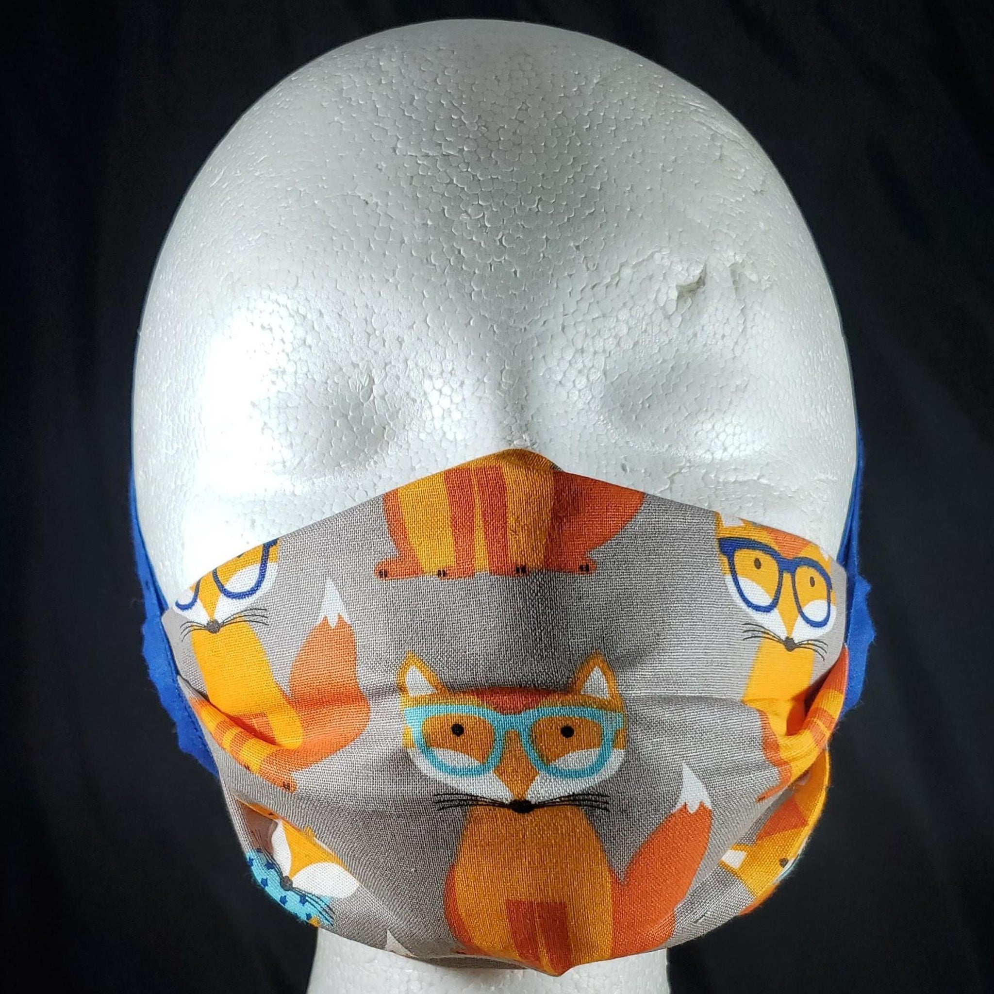 Nerdy Fox Cotton Face Mask