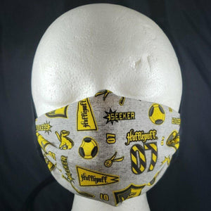 Hufflepuff Face Mask