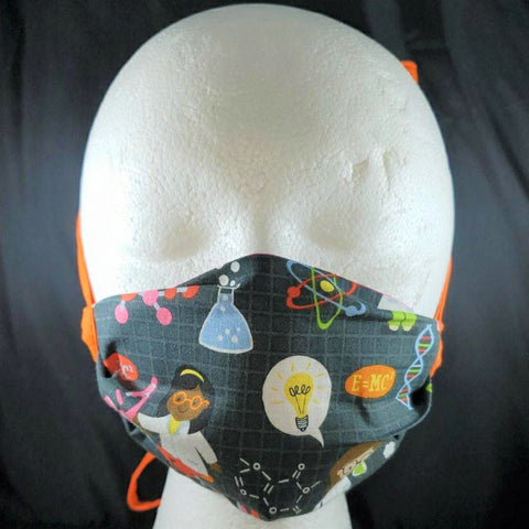 Scientist Power Face Mask