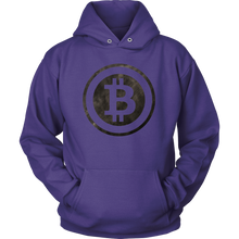Bitcoin Black and White Logo Hoodie-Fashion For Crypto