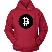 Bitcoin Black Circle Hoodie-Fashion For Crypto