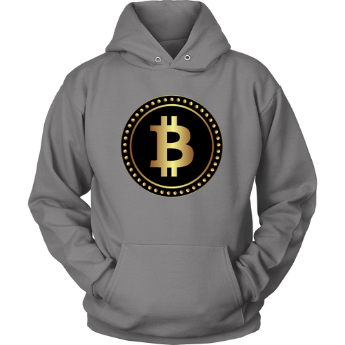 Bitcoin Black Ring Hoodie-Fashion For Crypto