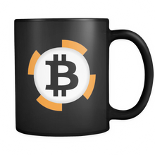 Bitcoin Chip Black Mug-Fashion For Crypto