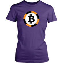 Bitcoin Chip Womens Shirt-Fashion For Crypto