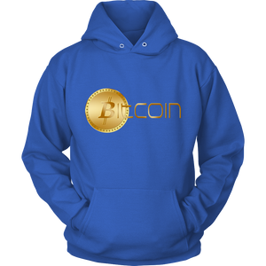 Bitcoin Coin Logo Hoodie-Fashion For Crypto