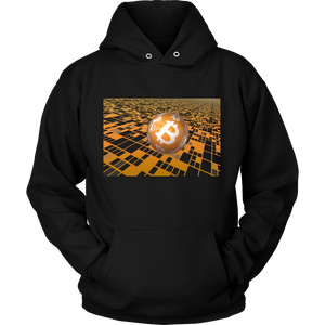 Bitcoin Floating Ball Hoodie-Fashion For Crypto