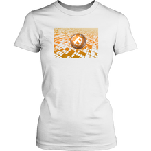 Bitcoin Floating Ball Womens Shirt-Fashion For Crypto