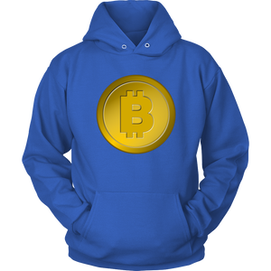 Bitcoin Gold Coin Hoodie-Fashion For Crypto