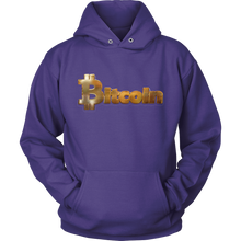 Bitcoin Gold Logo Hoodie-Fashion For Crypto
