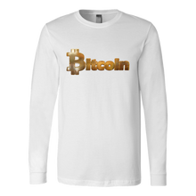 Bitcoin Gold Logo Long Sleeve Shirt-Fashion For Crypto
