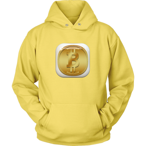 Bitcoin Gold Plate Hoodie-Fashion For Crypto