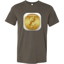 Bitcoin Gold Plate Short Sleeve Shirt-Fashion For Crypto