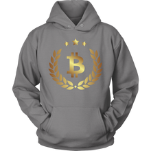 Bitcoin Halo Hoodie-Fashion For Crypto