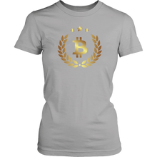 Bitcoin Halo Womens Shirt-Fashion For Crypto