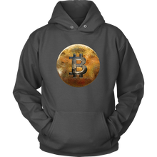 Bitcoin Hammered Coin Hoodie-Fashion For Crypto