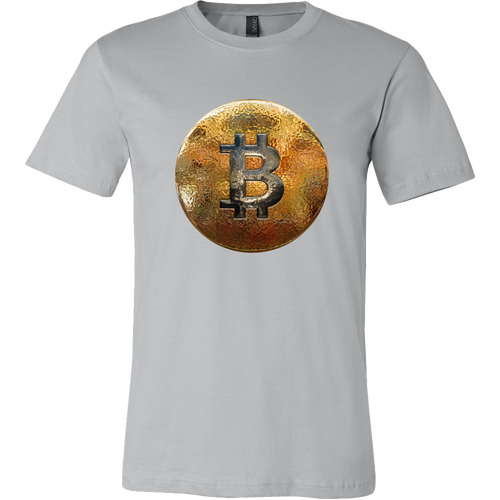 Bitcoin Hammered Coin Short Sleeve Shirt-Fashion For Crypto