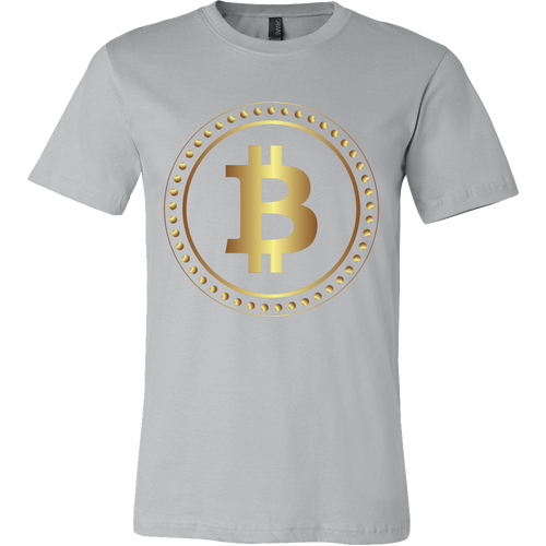 Bitcoin Hollow Ring Short Sleeve Shirt-Fashion For Crypto