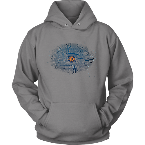 Bitcoin Motherboard Hoodie-Fashion For Crypto