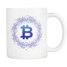 Bitcoin Network Wreath White Mug-Fashion For Crypto