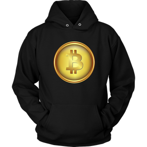 Bitcoin Shiny Coin Hoodie-Fashion For Crypto