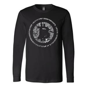 Bitcoin Soldered Circuits Long Sleeve Shirt-Fashion For Crypto