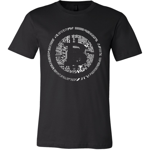 Bitcoin Soldered Circuits Short Sleeve Shirt-Fashion For Crypto