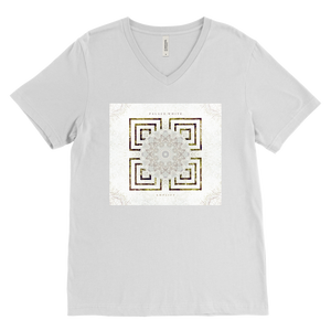 Palace White Album Logo Mens V-Neck Shirt