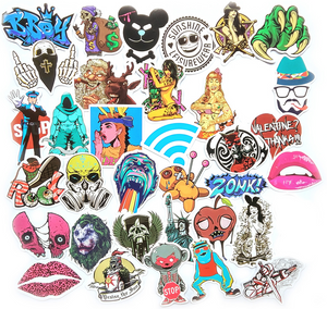 """Stickerbomb Set"" - 50 Piece Super Stack of Stickers!"