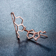 earrings dna atom molecule chemistry science geek cool earring physics usa canada france germany United kingdom australia love  watch necklace ring dopamine serotonin