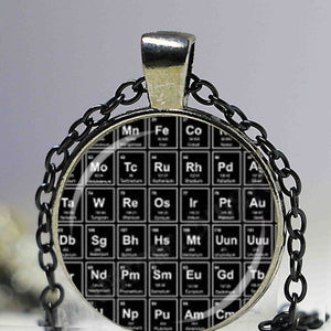 Periodic Table of Elements Glass Dome Pendant Necklace / KeyChain/ Pins..