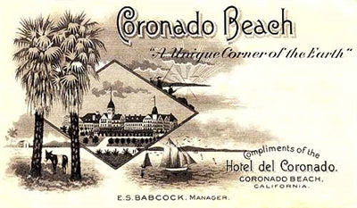 Coronado on the Beach